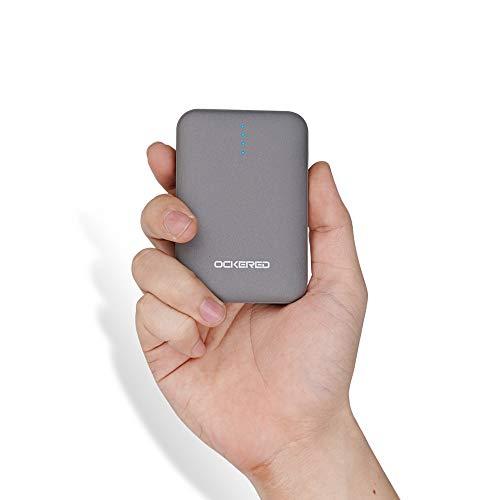Powerbank 10000mAh, Caricabatterie Portatile, Ultra-Compact Mini Batteria Esterna Carica Veloce Batteria Portatile con 2 USB Porte da 5V/2.4A per Iphone, Samsung, Huawei, Xiaomi e Altri Smartphone.