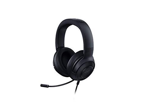 Razer Kraken X 7.1 Virtual Surround Sound Cuffie per il Gaming con Compatibilità Multipiattaforma, Jack Audio da 3.5 mm