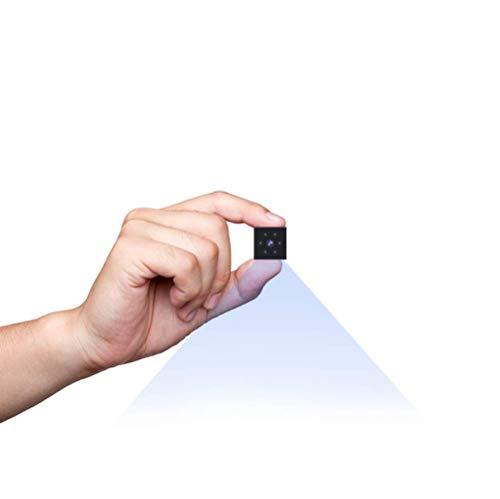 Mini Telecamera Spia, Gutkam 1080P Full HD Microcamera spia Nascosta di sorveglianza con Visione notturna/Rilevamento del movimento Videocamera di sorveglianza Interno/Esterno