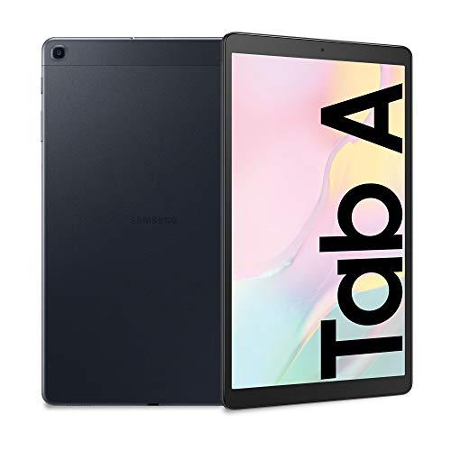 Samsung Galaxy Tab A 10.1, Tablet, Display 10.1' WUXGA, 32 GB Espandibili, RAM 2 GB, Batteria 6150 mAh, Wi-Fi, Android 9 Pie, Black [Versione Italiana]