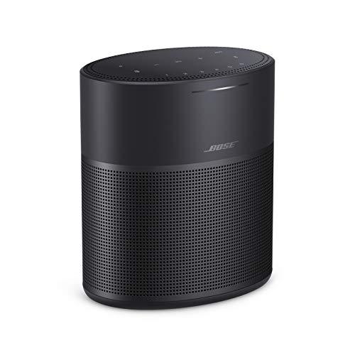 Bose Home Speaker 300 - Diffusore smart compatto, Assistenti vocali integrati come Assistente Google e Alexa, Nero