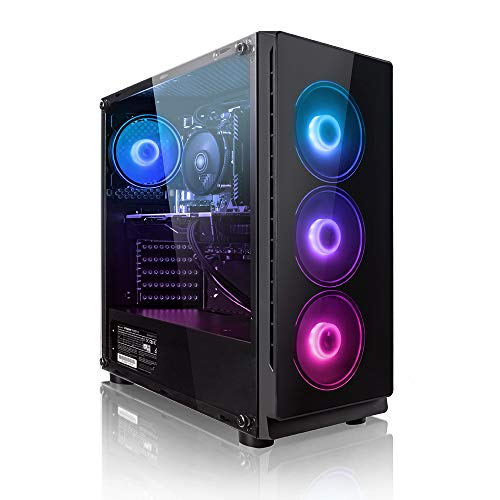 "Megaport PC-Gaming PC-Completo AMD Ryzen 7 2700X 8x 4.30GHz Turbo • Schermo LED 24"" • Tastiera/Mouse • nvidia GeForce RTX2070 Super 8GB • 1000GB HDD • 480GB SSD • 16GB DDR4 • Windows 10 Home • WLAN"