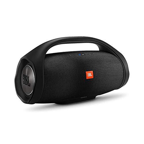 JBL Boombox Speaker Bluetooth Portatile, Cassa Altoparlante Bluetooth Waterproof IPX7, con Vivavoce, Wifi, JBL Connect+, fino a 24h di Autonomia, Nero