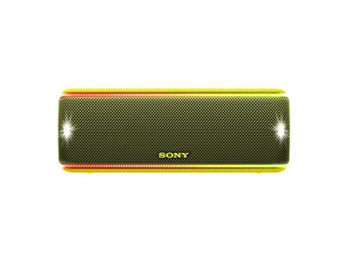 Sony SRS-XB31 Altoparlante Wireless Portatile, Extra Bass, Bluetooth, NFC, Resistente all'Acqua IP67, Batteria 24 ore, Funzione Live, Nero