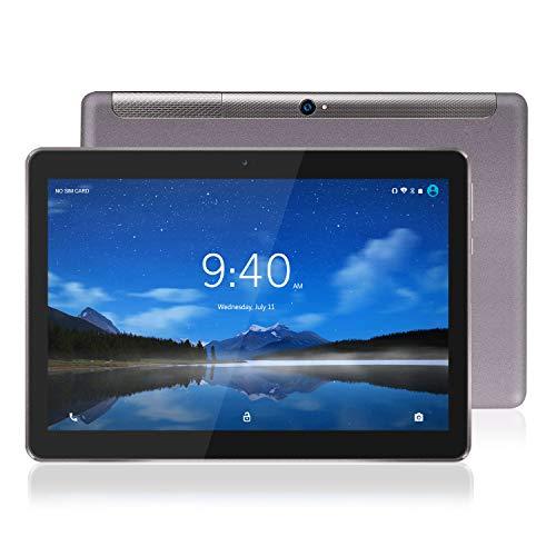 Tablet 10 Pollici 4G LTE WiFi BEISTA-Android 9.0 Certificato da Google GMS,4GB RAM,64GB Espandibili,Octa Core 2GHz CPU Alta Velocità,GPS,Tpye-C,Corpo in metallo,Grigio