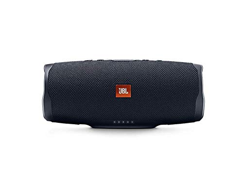 JBL Charge 4 Speaker Bluetooth Portatile, Cassa Altoparlante Bluetooth Waterproof IPX7, con Microfono, Porta USB, JBL Connect+ e Bass Radiator, fino a 20h di Autonomia, Nero