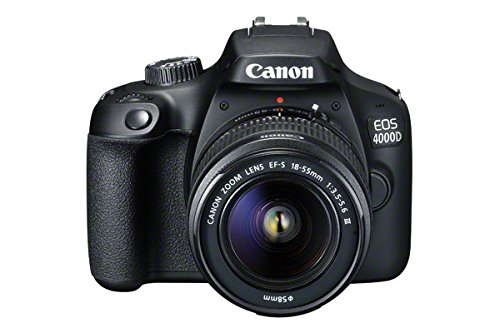Canon EOS 4000D    18-55 / 3.5-5.6 EF-S III Fotocamera digitale 18.7 megapixel - Versione UK