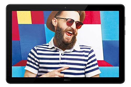 HUAWEI  Mediapad T5 Tablet, Display da 10.1', 32 GB Espandibili, 3 GB RAM, Android 8.0 EMUI 8.0 OS, Wi-Fi, Nero