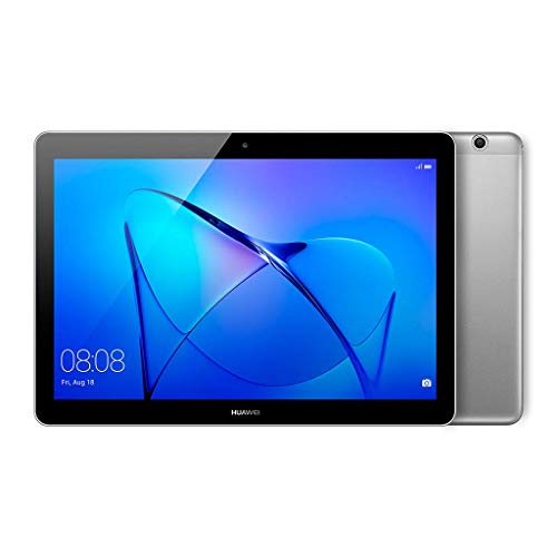 Huawei Mediapad T3 10 Tablet Wi-Fi, CPU Quad-Core A53, 2 GB RAM, 16 GB, Display da 10 Pollici, EMUI 5.1 (Android N), Grigio
