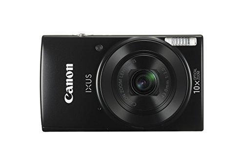 Canon IXUS 190 Fotocamera Digitale Compatta, 20 MP, 1/2.3', CCD, 5152 x 3864 Pixel, Nero