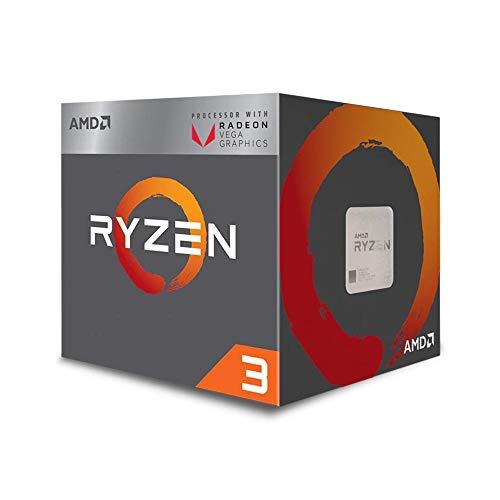 AMD Ryzen 3 Box processor - Processore 3, 3.5 GHz, Socket AM4, PC, 14 nm, 2200G