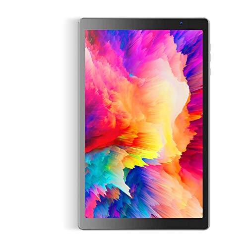 Tablet 10 Pollici con Processore Octa-Core, VANKYO S20 Tablet 64GB ROM 3GB RAM, Android 9.0, con IPS HD Display, Fotocamera 8MP + 5MP, WiFi, Grigio