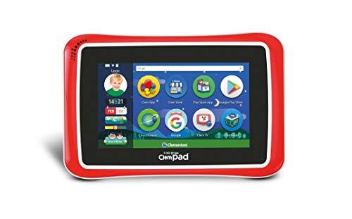 Clementoni 16610 Il Mio Primo ClempadGO 7' 8.0 Clempad 8, Tablet per bambini (3 anni +), 16 GB, 1024 x 600 px