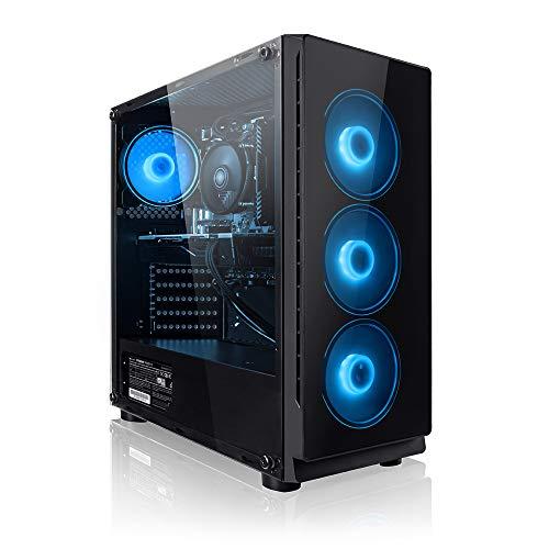 Megaport PC-Gaming AMD Ryzen 5 2600 • GeForce GTX1050Ti 4GB • 1000GB HDD • 16GB RAM • Windows 10 Home • pc da gaming • pc fisso • pc desktop • pc gaming assemblato gaming desktop computer gaming