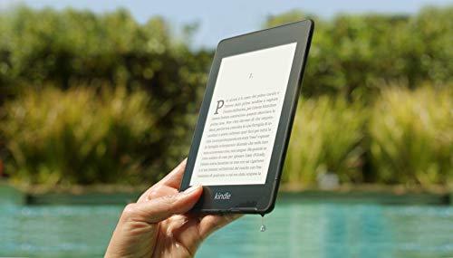 Kindle Paperwhite, resistente all'acqua, schermo ad alta risoluzione da 6', 8 GB, con pubblicità