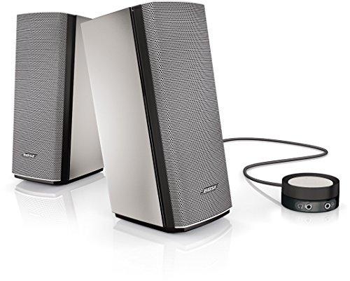 Bose Companion 20 Sistema Multimediale, 21,9 cm (A) x 8,9 cm (L) x 11,9 cm (P), Grigio