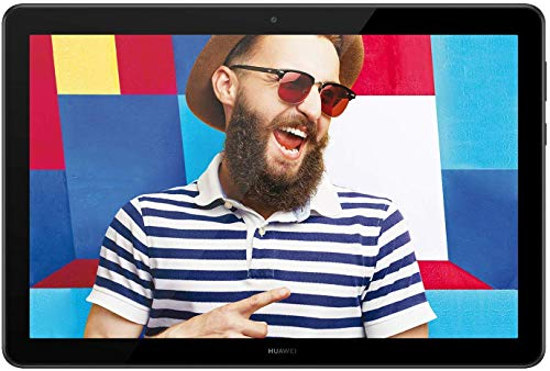 Huawei Mediapad T5 Tablet, Display da 10.1', 64 GB Espandibili, 4 GB RAM, Android 8.0 EMUI 8.0 OS, Wi-Fi, Nero