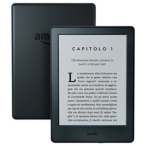 Kindle, schermo da 6' (15,2 cm), senza luce integrata, Wi-Fi (Nero) - Con offerte speciali (generazione precedente – 8ª)