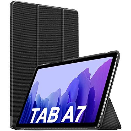 Sross per Samsung Galaxy Tab A7 Custodia Cover, Custodia per Samsung Galaxy Tab A7 10,4 2020, Smart Case Cover per Samsung Galaxy Tab A7 10.4 Pollice 2020, Galaxy Tab A7 T500/T505/T507 Custodia, Nero
