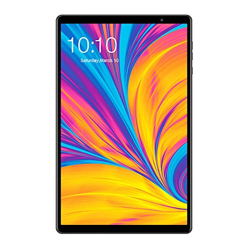 TECLAST P10HD Tablet 10.1 Pollici 4G LTE Android 9.0, 8-Core AI 1920 × 1200 FullHD IPS 2.5D, 3GB + 32GB, Certificato da Google GMS, 6000mAh, Bluetooth 5.0 Beidou + GPS Dual WiFi