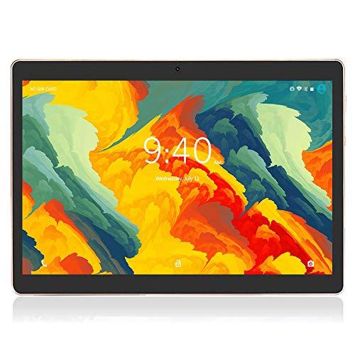 Tablet 10 Pollici 4G LTE WIFI BEISTA-Android 9.0 Tablets Full HD display,4GB RAM 64GB ROM,Doppia SIM,Quad-core,GPS,Bluetooth,OTG-Nero