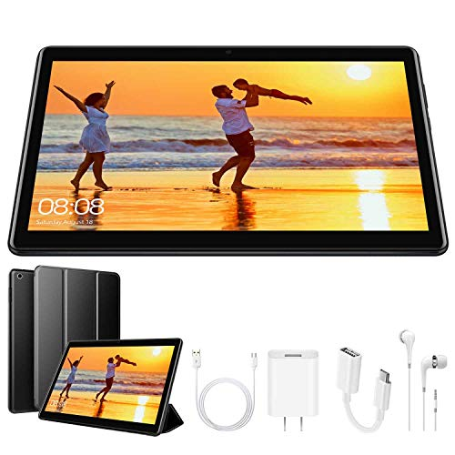 4G Tablet 10.1 Pollici con Wifi Offerte Tablet PC Offerte 8500mAh con Slot per Scheda SIM Doppio Memoria RAM da 3GB+32GB 8MP Camera Android 8.1 Quad Core Tablet Sbloccato WiFi/Bluetooth/ GPS/OTG