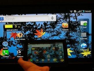 Collegare il tablet alla TV