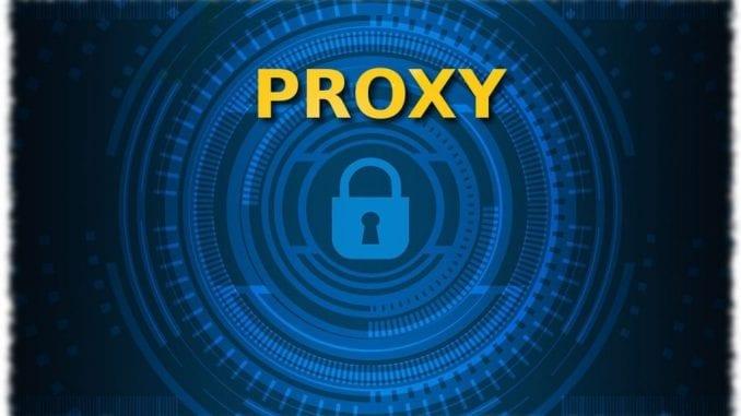 Configurare proxy
