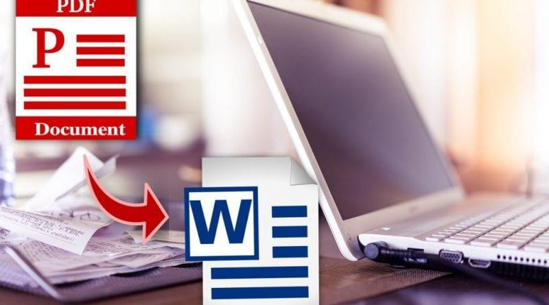 Programmi per convertire PDF in Word