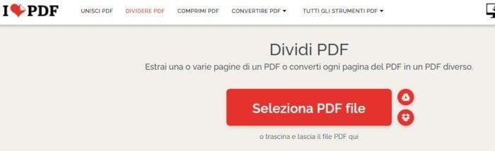 I Love PDF Dividere