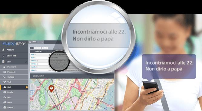 monitorare un cellulare con Flexispy
