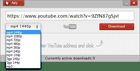 Scaricare video da Youtube con Airy