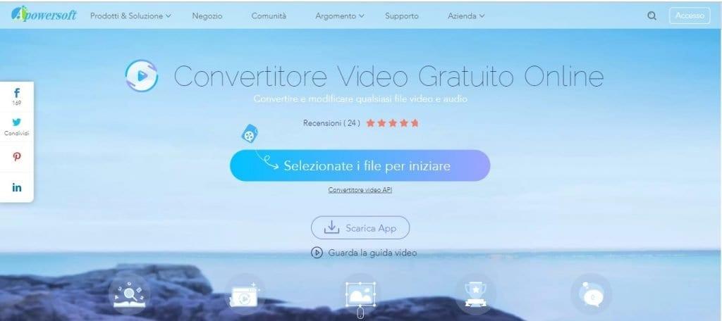 Apowersoft per estrarre audio da un video online