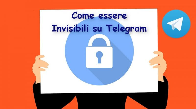 Come essere invisibili su Telegram