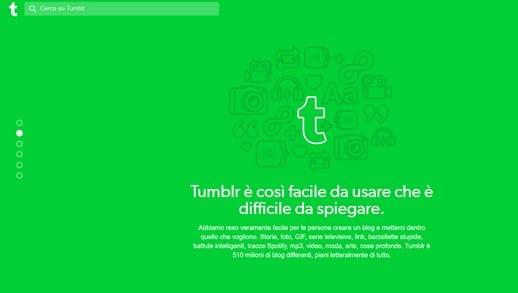 tumblr piattaforma blogger