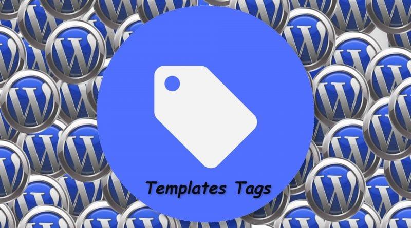 I template tags di WordPress